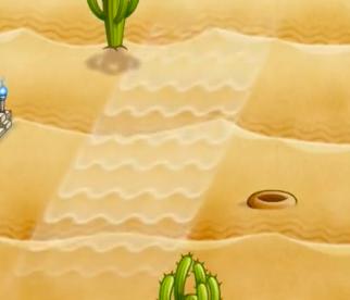 砂漠ステージ