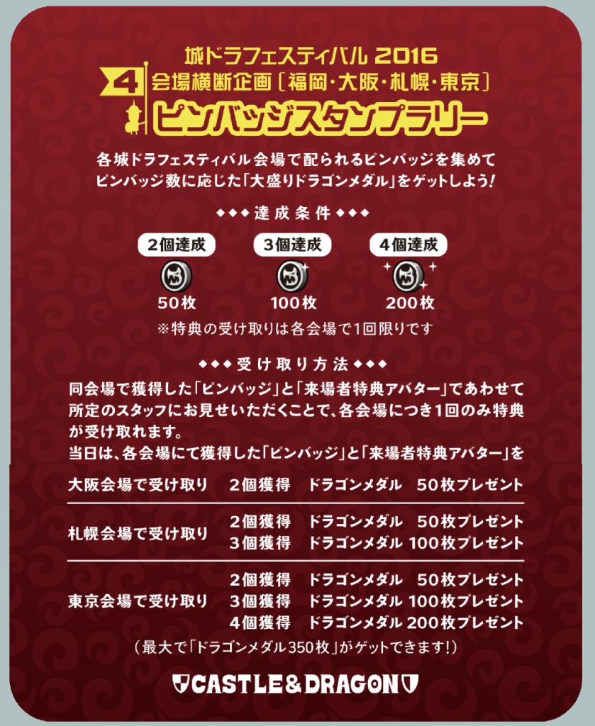 城ドラ 福岡 ピンバッチ
