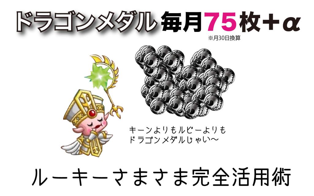 城ドラ ドラゴンメダル 入手方法 ルーキーさまさまキャンペーン