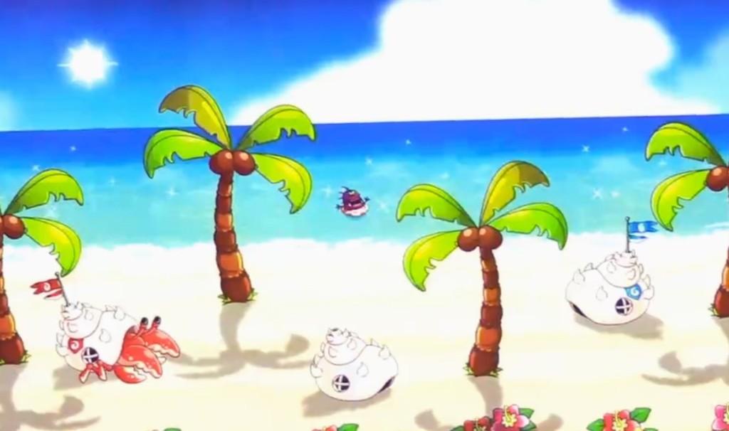 城ドラ 常夏のビーチ