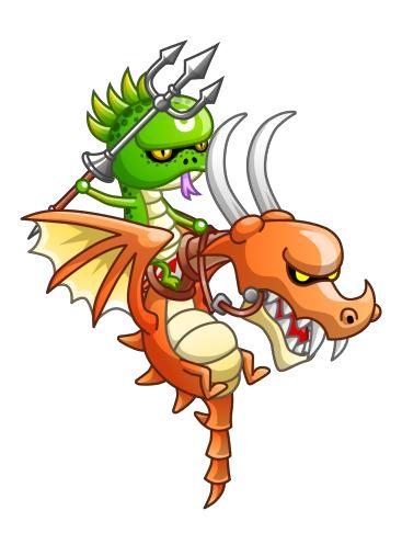 トロフィー ドラゴンライダー