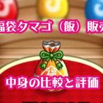 城ドラ 福袋タマゴ(飯)